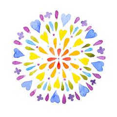 mandala colorata