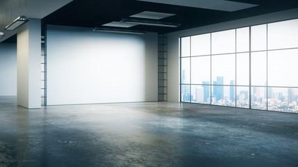 New grunge office interior