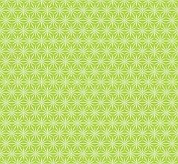 Vector Background, Japan Style #Geometric hemp-leaf pattern