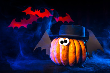 Pumpkin for the holiday of Halloween.