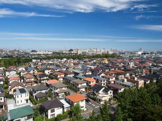 東京近郊の住宅街