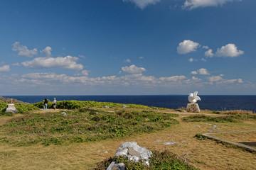 沖縄の辺戸岬