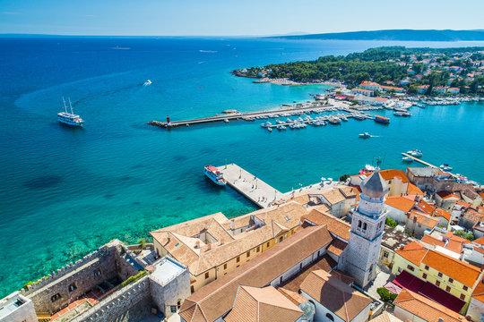 The Old Town of Krk, Croatia