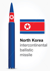 North Korea intercontinental ballistic missile