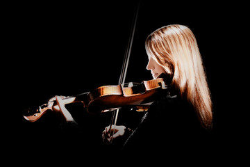 Violin player Violinist playing violin classical musician