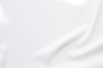 Aluminium Prints Fabric Abstract waving white fabric texture background
