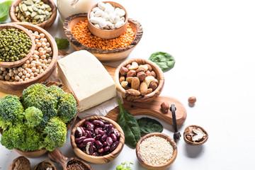 Vegan protein source.