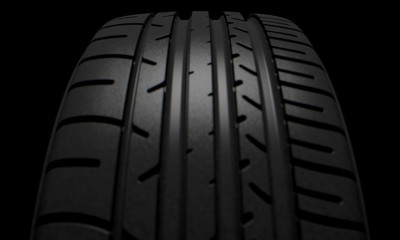 Tire Dark Background