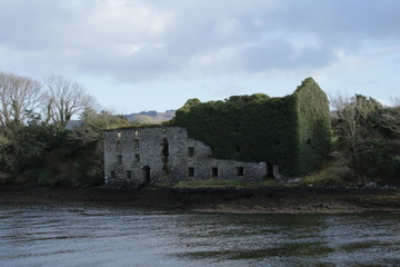 Remaind of and old grain mill, West Cork Ireland