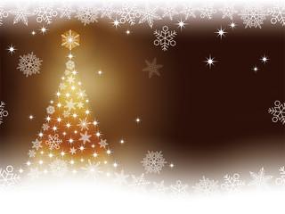 シームレスなクリスマスの背景