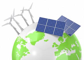 Renewable Energy - 3D