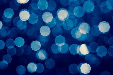 Abstract background with blurry bokeh