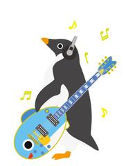 アデリーペンギン さかなギター