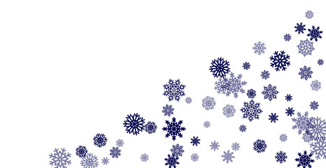 Christmas and New Year white background vector