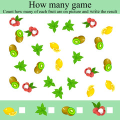 how many objcets game