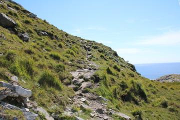 Hill walking on the Irish Countryside