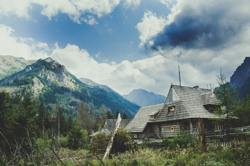 Tatra Mountains Panorama