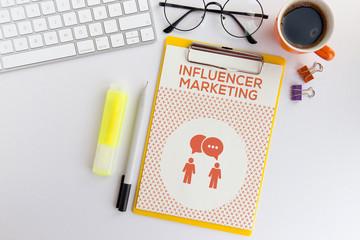 Marketing influence INFLUENCER MARKETING CONCEPT
