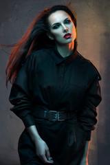 Beautiful, mysterious woman