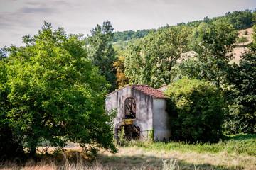 La vieille cabane près de Cordes-sur-Ciel