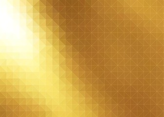 geometric metallic fold graphic illustration background idea for business and technology theme use