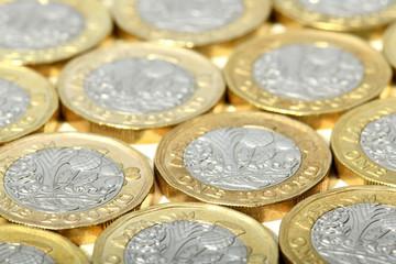 new one pound british coins
