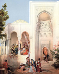 The architecture of the Caucasian Muslims.