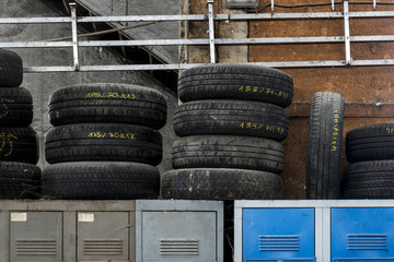 Tyres and lockers