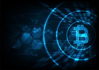 bitcoin concept.