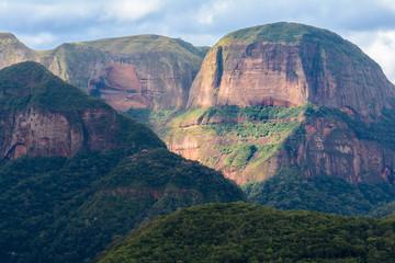 Volcanoes mountain range in Amboro national park, Bolivia