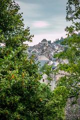Vue sur le village de Najac