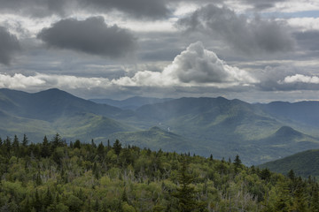 Storm Clouds Over the Adirondack Mountains of New York State