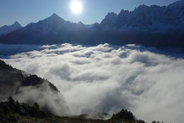 Sunrise Mont Blanc Massif