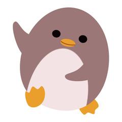 小躍りするペンギン