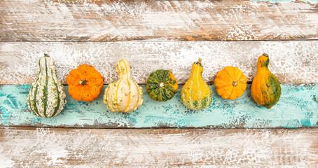 Pumpkin rustic wooden texture Autumn background