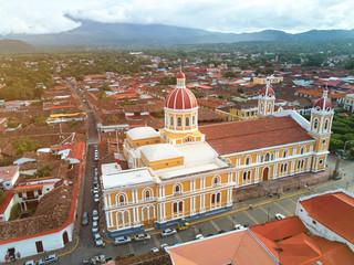 Aerial view of Granada city