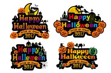 イラスト素材:ハロウィン用イラスト・ロゴ|Illustration for Halloween