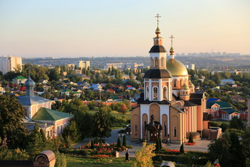 St. Alexey's Convent, Saratov, Russia Wall mural