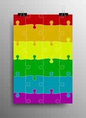 LGBT Pride Flag Rainbow Symbol Vector
