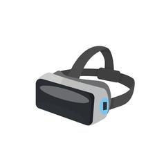 VR Glasses or virtual reality helmet