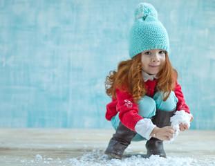 Child winter fashion