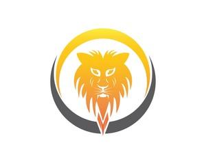 Lion Head Logo Template