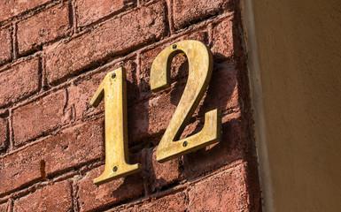 Hausnummer zwölf
