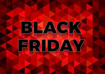 Black friday sale background. Vector illustration