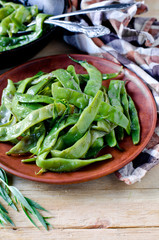 Salad of green beans with tarragon