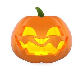 Jack O Lantern Halloween Pumpkin Isolated