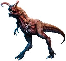 Wall Mural - Fantasy dinosaur monster