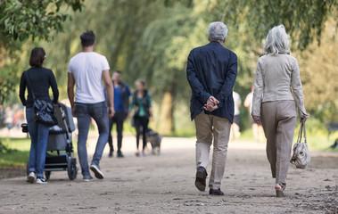 Generationen im Park