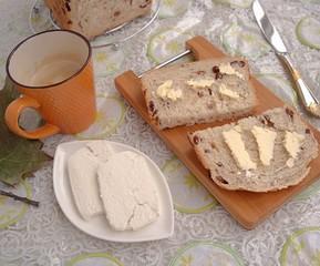 Breakfast in autumn