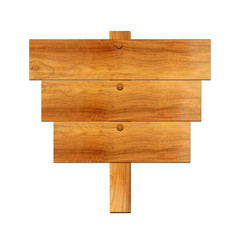 Wooden board sign8